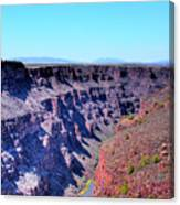 The Rio Grande Gorge Canvas Print