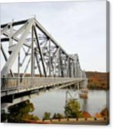 The Rip Van Winkle Bridge 4 Canvas Print