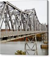The Rip Van Winkle Bridge 5 Canvas Print