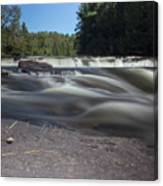 The River - Furnace Falls - Burnt River Canvas Print