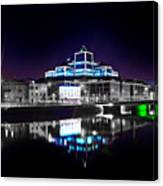 The River Liffey Reflections 2 V2 Canvas Print