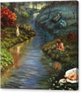 The River Of Life Canvas Print