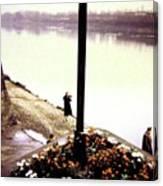 The River Seine 1955 Canvas Print