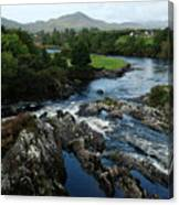 The River Sneem Canvas Print