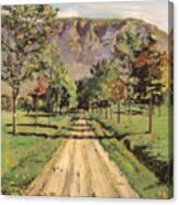 The Road To Evordes Canvas Print