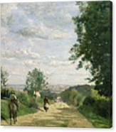 The Road To Sevres Canvas Print