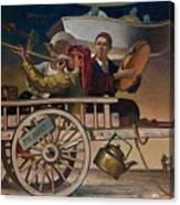 The Road To Tashkent Canvas Print