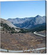 The Road To The Continental Divide Canvas Print