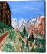 The Road To Zion Canvas Print