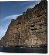 The Rocks Of Los Gigantes 1 Canvas Print