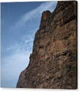 The Rocks Of Los Gigantes 2 Canvas Print