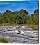 The Rocky Limestone Trail  Canvas Print