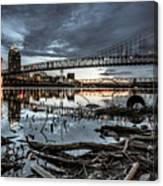 The Roebling Gotham Style Canvas Print