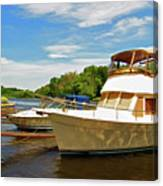 The Rondout At Eddyville Canvas Print