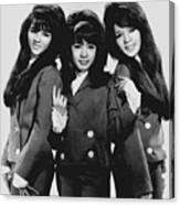 The Ronettes 1966 Canvas Print