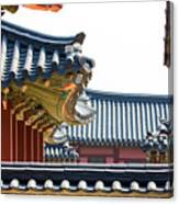 The Roofs Of Suwon Canvas Print