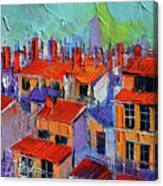 The Rooftops Canvas Print