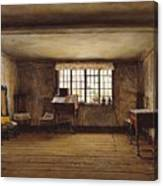 The Room In Which Shakespeare Was Born Canvas Print