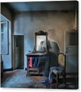 The Room Of The Castle Of The Phantom Of The Mirror Paint Canvas Print