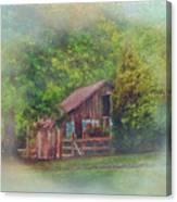 The Rose Barn Canvas Print