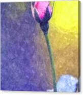 The Rose Bud Canvas Print
