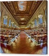 The Rose Main Reading Room Nypl Canvas Print