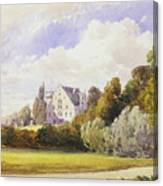 The Rosenau From The South-east Canvas Print