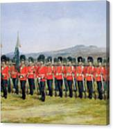The Royal Fusiliers Canvas Print
