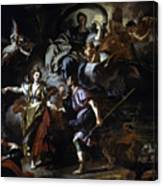 The Royal Hunt Of Dido And Aeneas Canvas Print