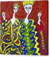 The Royal Sisters Canvas Print