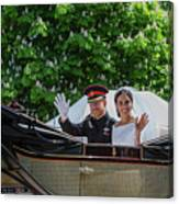 The Royal Wedding Harry Meghan Canvas Print