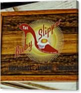 The Ruby Slipper Canvas Print