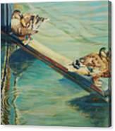 The Rudder Canvas Print