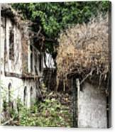 The Ruined Cottage Canvas Print