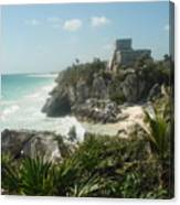 The Ruins Of Tulum Canvas Print