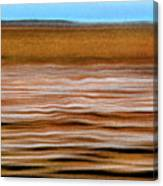 The Rust Brown Pacific Canvas Print