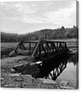 The Rusted Bridge Canvas Print