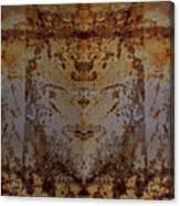 The Rusted Feline Canvas Print
