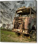 The Rusting Rig Canvas Print