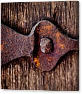 The Rusty Hinge Canvas Print