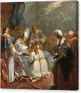 The Sacrament Of Confirmation Canvas Print