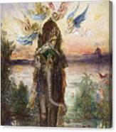 The Sacred Elephant 1882 Canvas Print