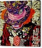 The Sad Hatter Canvas Print
