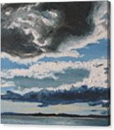 The Saintlawrence Lapocatiere Qc Canada Canvas Print