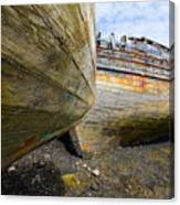 The Salen Wrecks Canvas Print