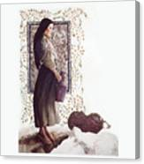 The Samaritan Woman - Lgtsw Canvas Print