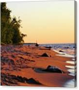 The Sands Of Dusk Canvas Print