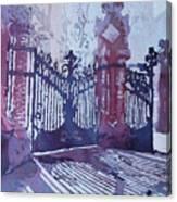The Sant Pau Gates Canvas Print