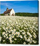 The Saxon Church Canvas Print