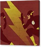 The Scarlet Speedster Canvas Print